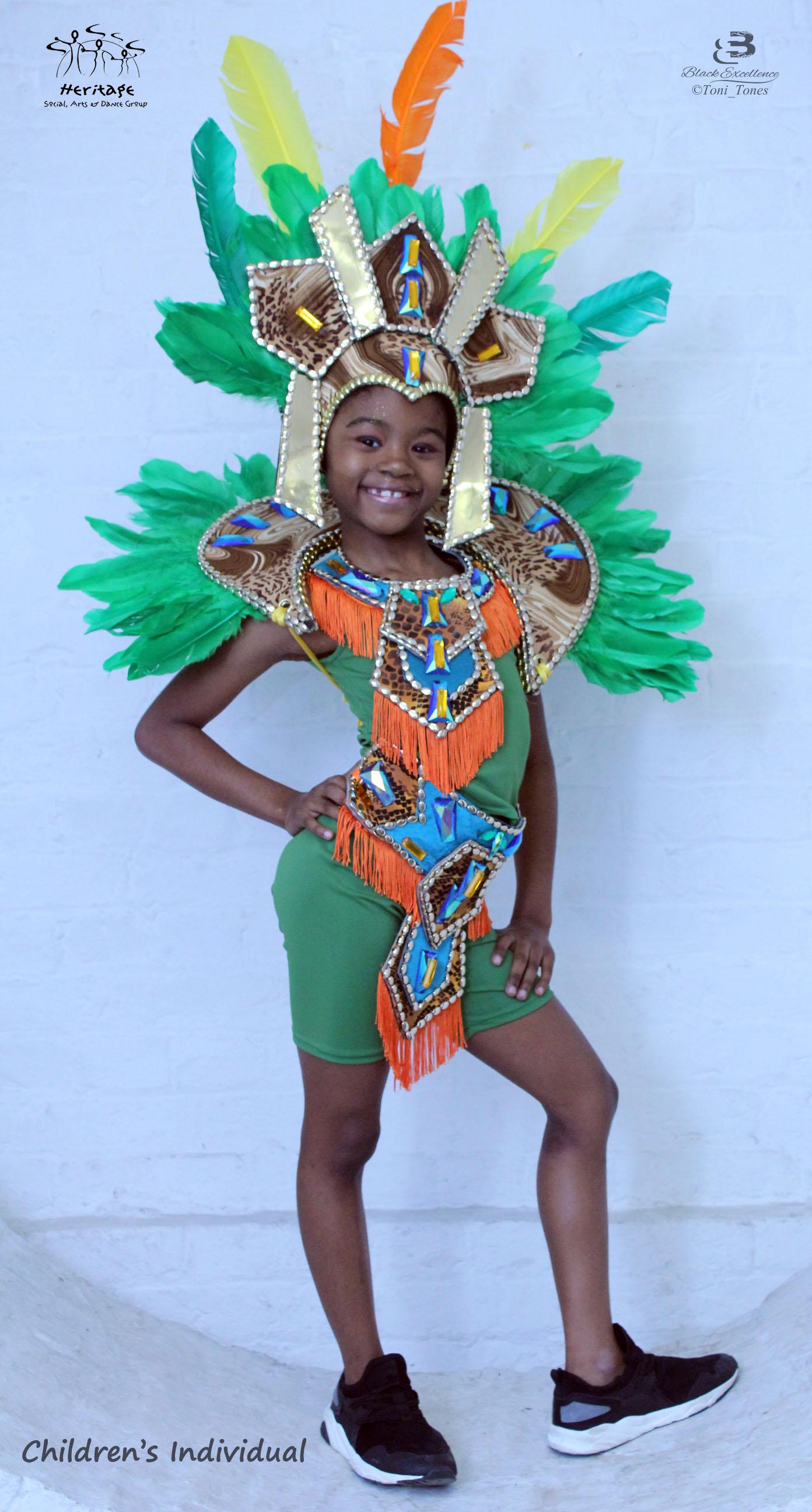 Childrenu0027s Inidual Carnival Costume  sc 1 st  Heritage Social Arts u0026 Dance Group & Childrenu0027s Inidual Carnival Costumes - Heritage Dance Group